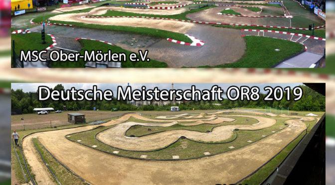 Deutsche Meisterschaft OR8 beim BIG Hamburg e.V. und MSC Ober-Mörlen e.V.