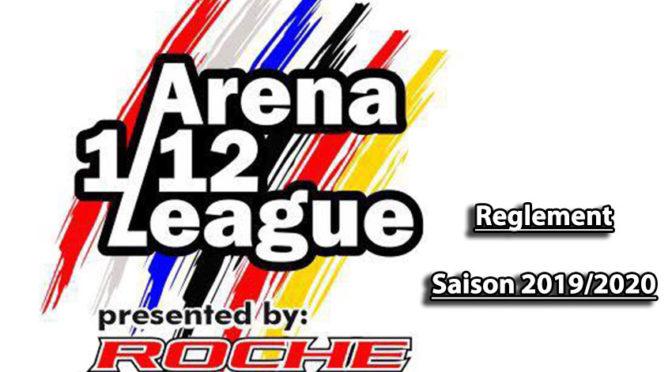 Das Reglement der Arena 1/12 League Saison 2019/2020 steht