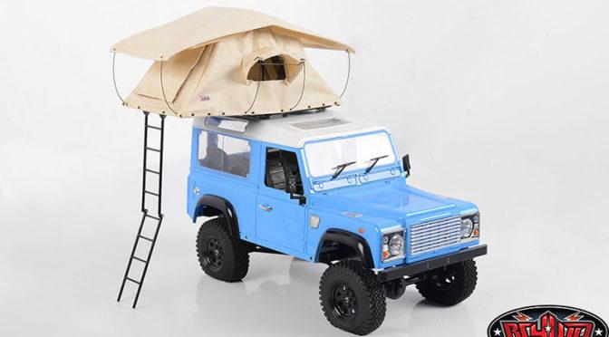 Bereit zum Camping! Dachzelt von RC4WD