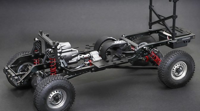 COMING SOON – BRX01 1/10 4WD Chassis-Kit