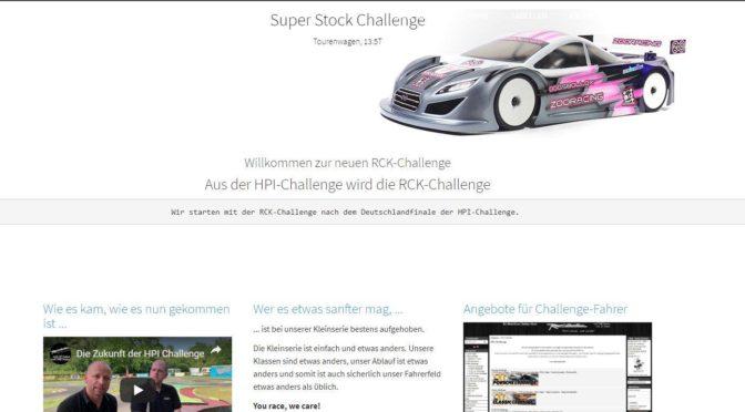 Die Webseite der RCK-Challenge ist online