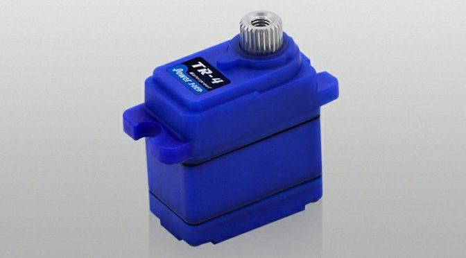 Power HD stellte sein brandneues wasserdichtes Mini-Servo TR-4 vor