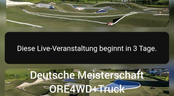 Livestream bei der DM 2019 in Langenfeld
