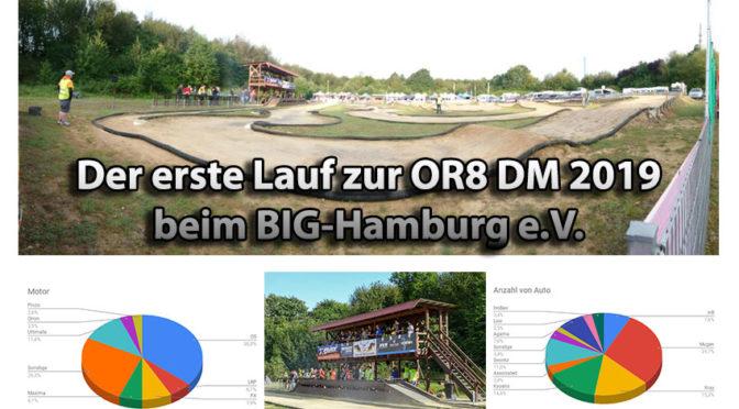1.Lauf zur Deutschen Meisterschaft OR8 beim BIG-Hamburg e.V.