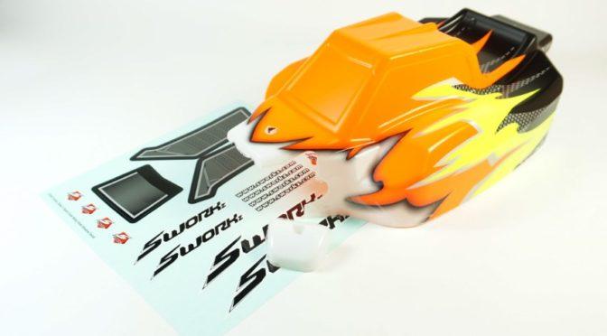 Fertig zum lackiert und ausgeschnitten – Sworkz S35-3 Karosserie