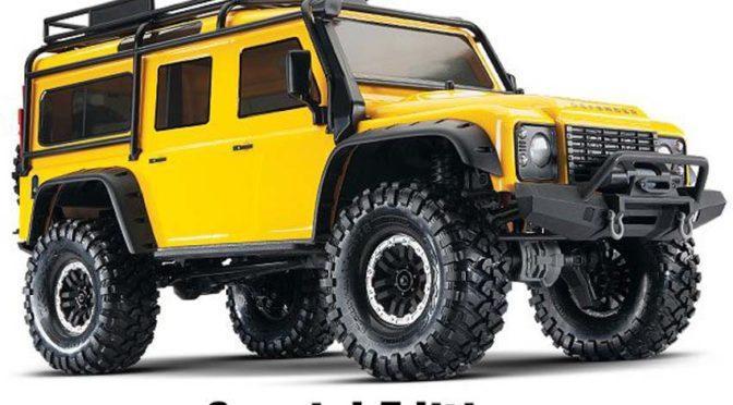 Gelbe Spezial Edition – TRX-4 Land Rover Defender in neuem Farbton