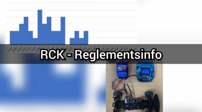 RCK-Kleinserie – Drehzahllimit