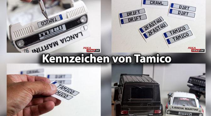 """""""Wunsch""""- KENNZEICHEN von Tamico"""
