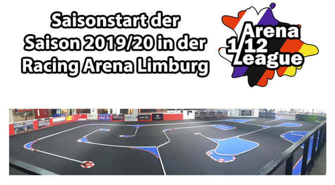 Saisonauftakt der Arena 1/12 League in der Racing Arena Limburg