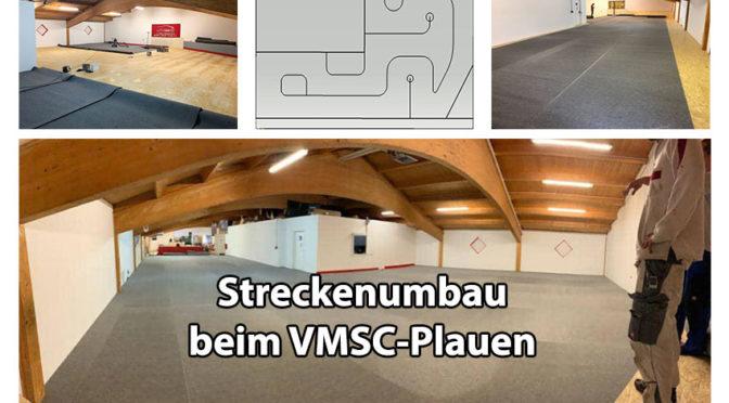 Die Modellbauhalle des VMSC Plauen
