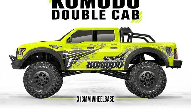 Neues zum Gmade 1/10 GS02 KOMODO DOUBLE CAB TS KIT