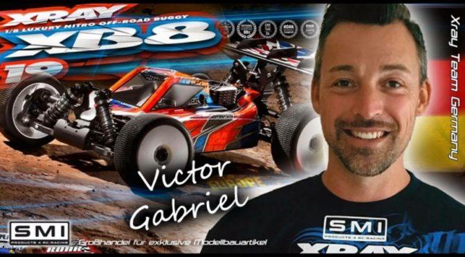 Victor Gabriel im Team Xray Germany