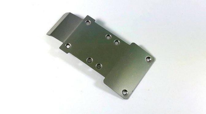 Alu-Schutzplatte für den Absima Buggy/ Truggy