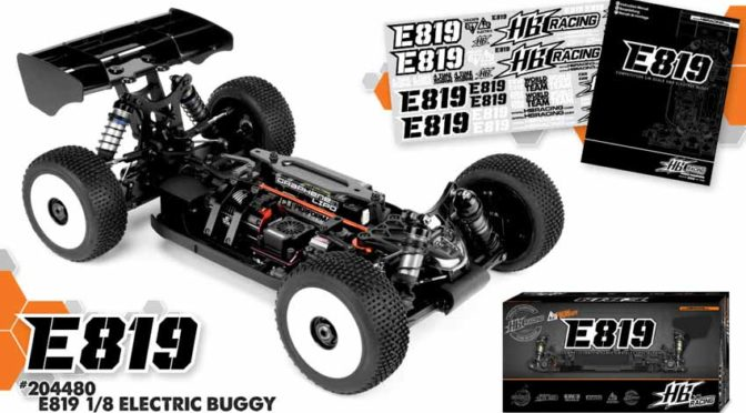 HB Racing zeigt den E819