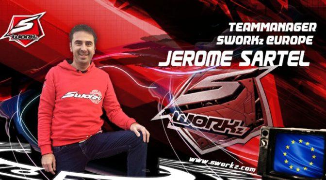 Jerome Sattel ist Teammanager SWORKz Europa