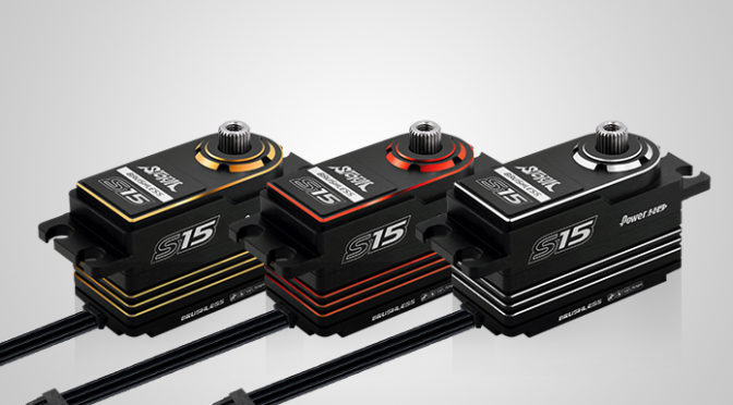 Farbig – Neues Power HD STORM-S15 Servo