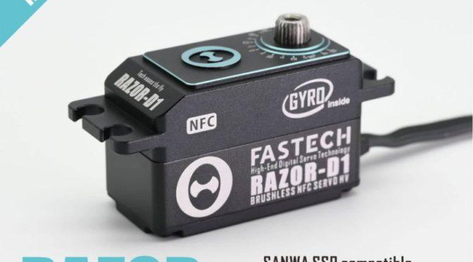 Fastech Razor D1 NFC mit ! integriertem ! Gyro! bei RC OMG