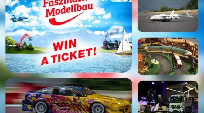 Countdown! Die 25. Faszination Modellbau feiert die Vielfalt der Miniaturen, vom 01. bis 03.11.2019 in Friedrichshafen
