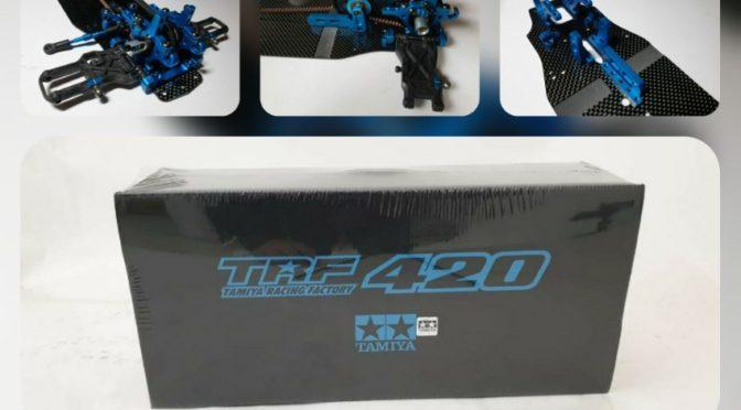 Bau des Tamiya TRF420 Tourenwagen – Teil 1