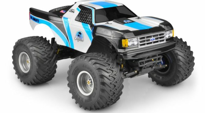 "JConcepts – 1989 Ford F-150 ""California"" Traxxas Stampede"