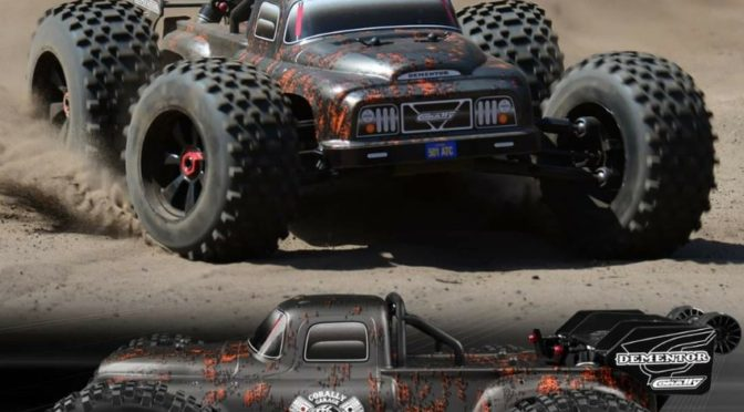DEMENTOR XP 6S – The next level for STUNT TRUCKS