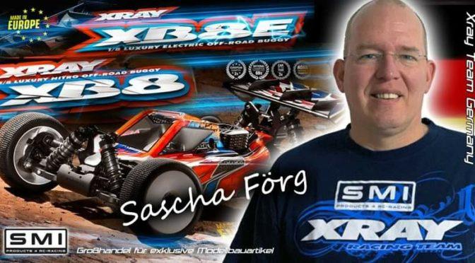 Sascha Förg ist zurück bei SMI XRAY Germany