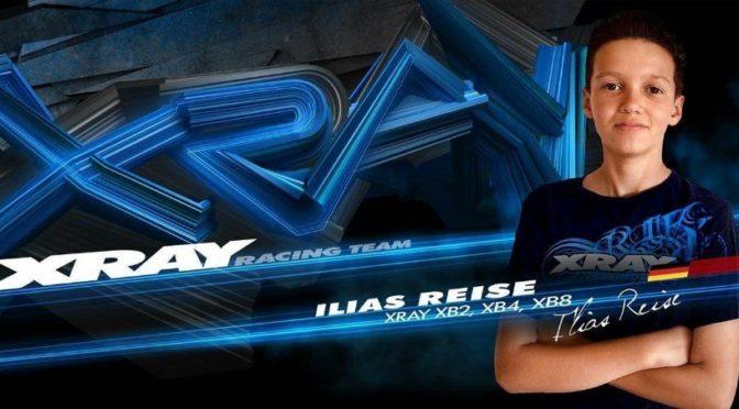 Ilias Reise wechselt in Xray Racing Team