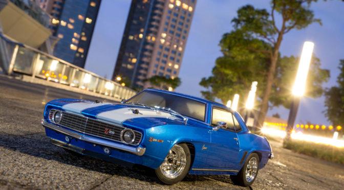 1969 Chevy® Camaro® Z/28 Le Mans Blue als Readyset