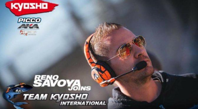 Reno Savoya wechselt zu Team Kyosho