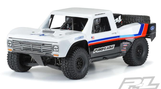 Pre-Cut 1967 Ford F-100 Race Truck Karosserie für den Desert Racer