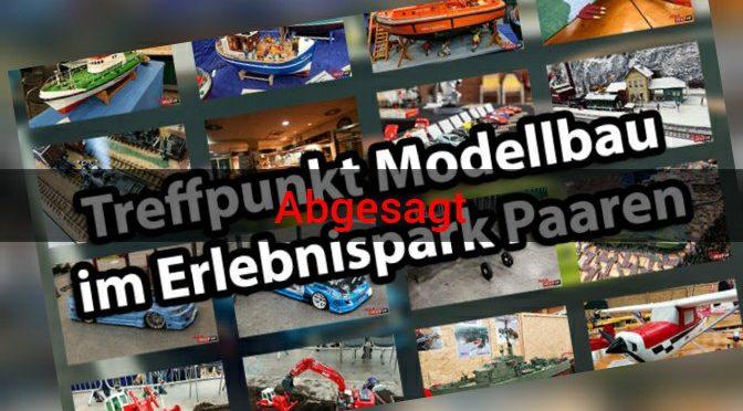 """Abgesagt – """"Treffpunkt Modellbau"""" präsentiert Modelle aller Sparten in Paaren"""