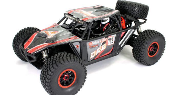 FTX DR8 1/8 DESERT RACER 6S READY-TO-RUN – RED
