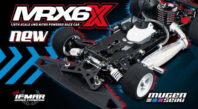 Mugen MRX6X – Verbesserte Weltmeisterversion
