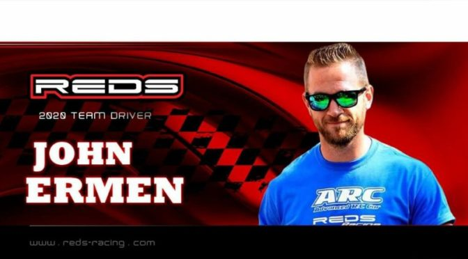 John Ermen auch 2020 bei Reds Racing