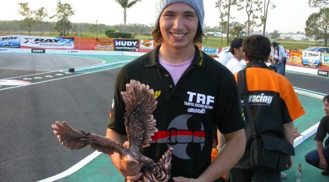 Marc Rheinard holte mit dem Tamiya 415 seinen ersten IFMAR WM Titel