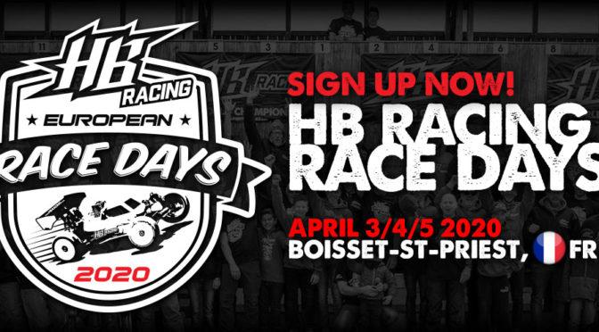 HB Race Days starten Anfang April 2020