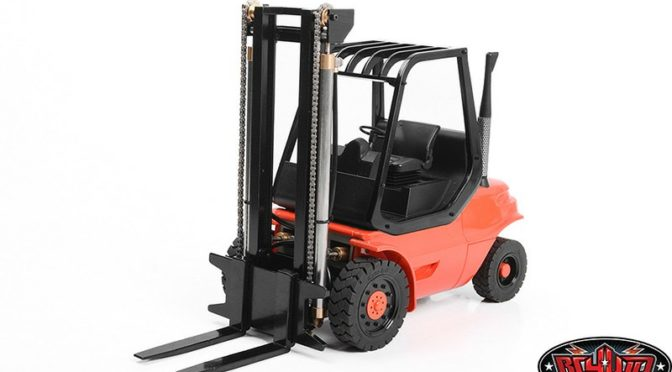 1/14 NORSU HYDRAULIC RC FORKLIFT RTR (RED)
