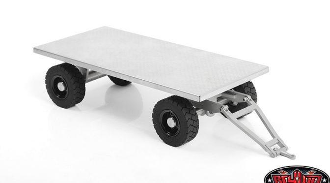 1/14 Forklift Trailer mit lenkbarer Achse