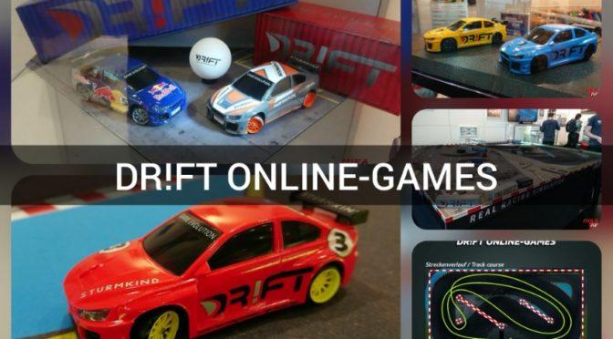 Lasst die Spiele beginnen – DR!FT ONLINE-GAMES