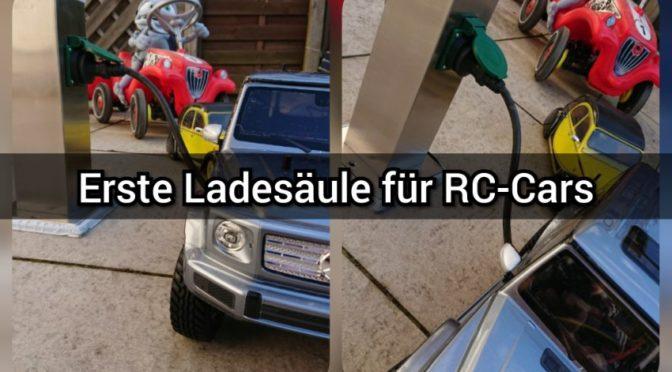 Erste Ladesäule – Ausbau der Ladestationen für RC-Cars geplant