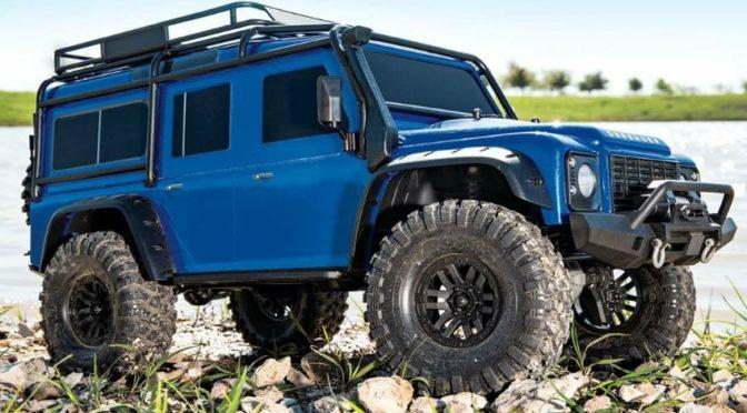 Jetzt in Blau – Traxxas TRX-4 Defender