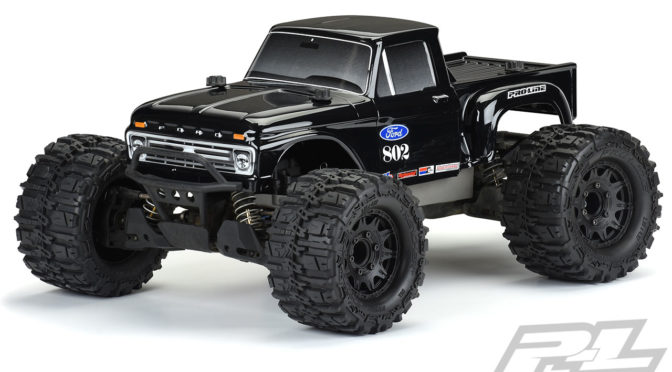 """Black ist beautiful"" – 1966 Ford F-100 Tough-Color (Black) Karosserie"