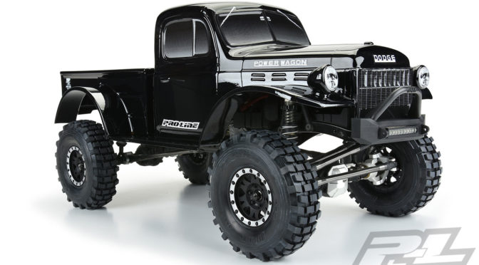 1946 Dodge Power Wagon Tough-Color (Black) Karosserie