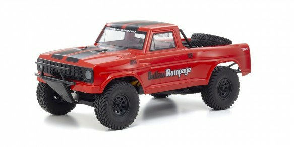 KYOSHO OUTLAW RAMPAGE PRO 1:10 RC EP READYSET