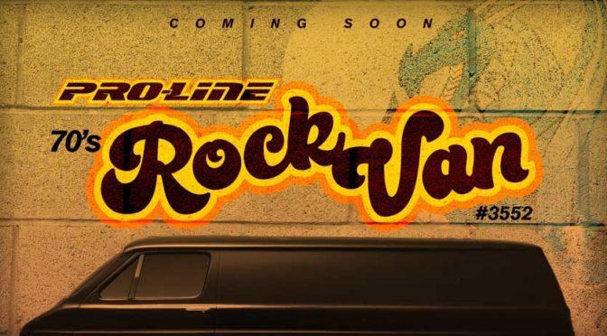 Coming soon – '70s Rock Van von Pro-Line