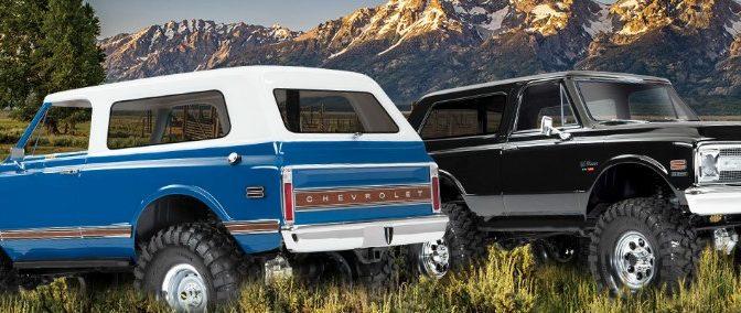 Neue '69 und '72 Blazer Karosserien für den TRX-4