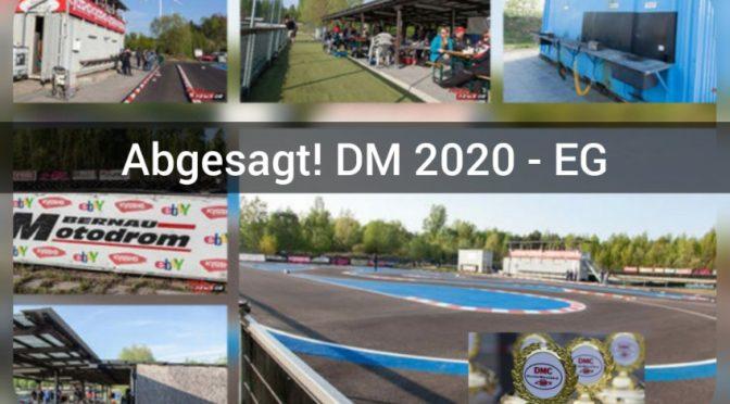 ABSAGE – Deutsche Meisterschaft 2020 EGTW und F1