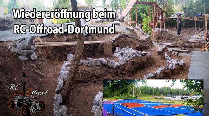 Auf geht es nach Dortmund zur Wiedereröffnung für Racer und Crawler