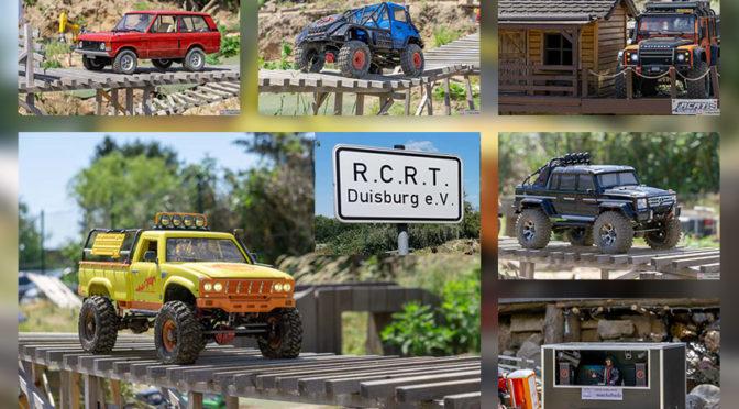 Erfolgreiche Fahrtage im Crawler-Eldorado des RCRT Scale Park Duisburg