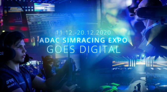 ADAC SimRacing Expo reagiert auf Corona-Pandemie: Virtueller Motorsport  pur im Dezember